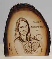 Pictures - your own photo on wood paque