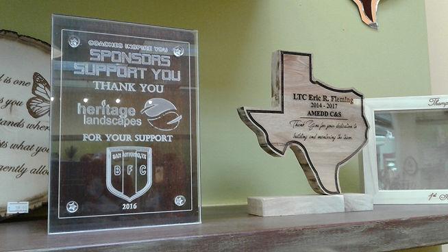 awards, custom plaque