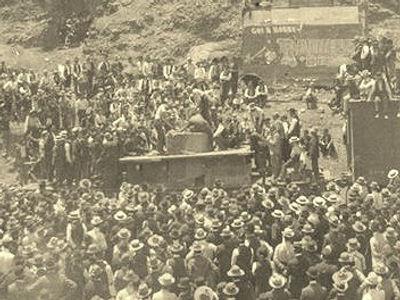 Bisbee Arizona 1903 drilling contest
