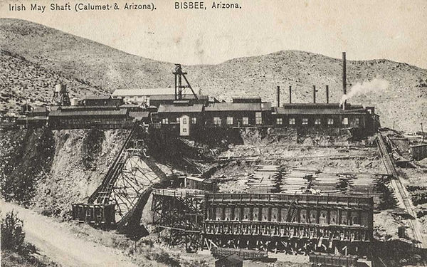 Irish Mag Mine  Bisbee, Arizona