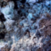 In situ, blue ransomite,