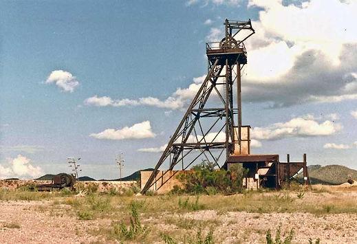 Galena Headframe and hoist Bisbee Arizona