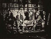miners timbering Bisbee Arizona