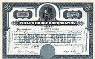 Phelps Dodge Stock