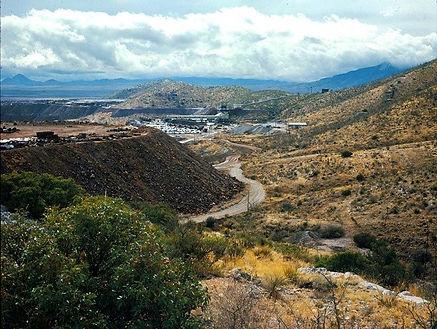 Cole Mine area in 1965 bisbee arizona