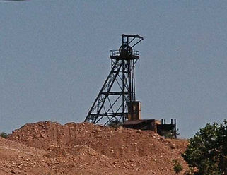 Galena Headframe Bisbee Arizona