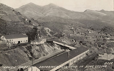 The Sacramento Shaft, Circa 1932 Bisbee Arizona
