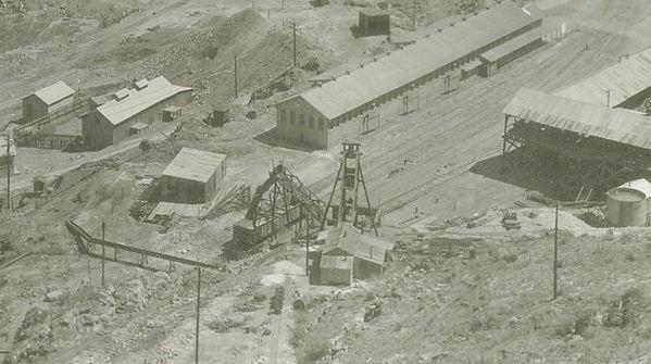 Charon  shaft or Van Horn shaft  Bisbee AZ