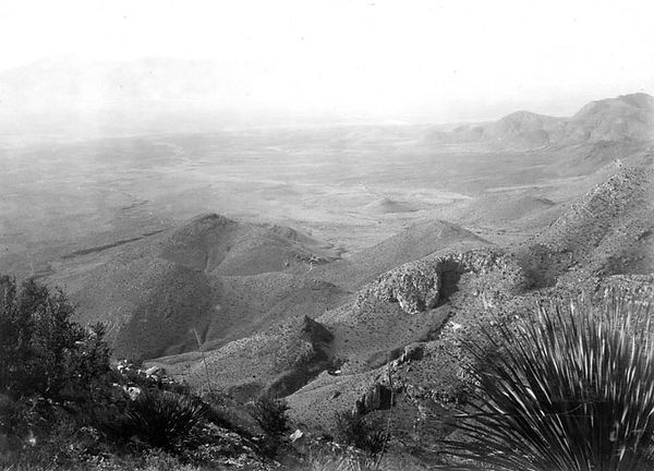 Distance view of the Bisbee West mine