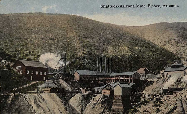 Shattuck mine Bisbee Arizona