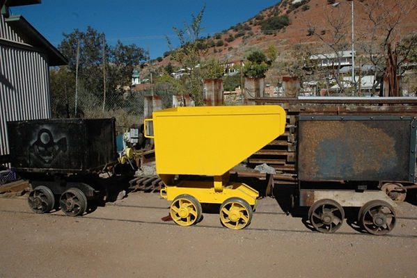 Scoop car queen mine Bisbee, Arizona