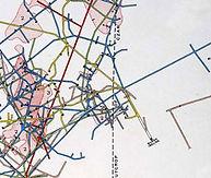 Map of Copper Queen Mine