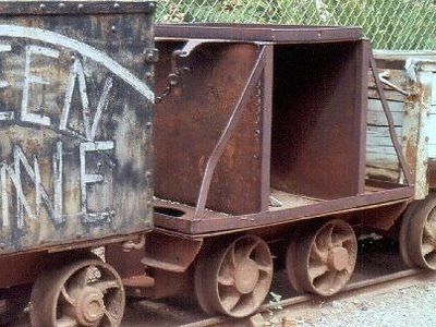 Acetylene car located at the Queen mine