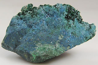 Shattuckite with malachite bisbee arizona