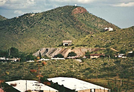 Calumet & Cochise Shaft  circa 1988 Bisbee Arizona