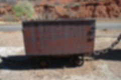 Divison car located at Bisbee Blue Lavender pit view point