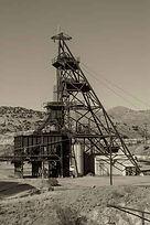 Level Map of the underground mines in divison 1 Bisbee Arizona