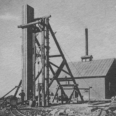 Portage Lake shaft Bisbee Az