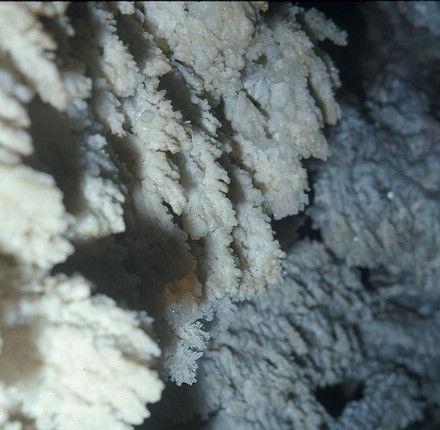 post-mining calcite