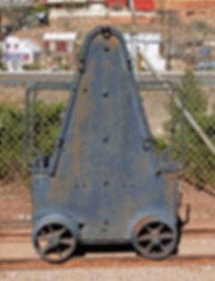 Copper Queen Divison car displayed at Queen mine tours