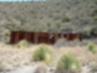 Fence around the Congdon shaft Bisbee Arizona