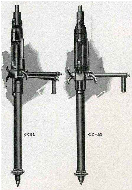 cc-11 cc-21 Ingersoll Rand stopers