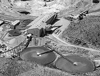 Lavender Pit mine complex 1963 Bisbee Arizona