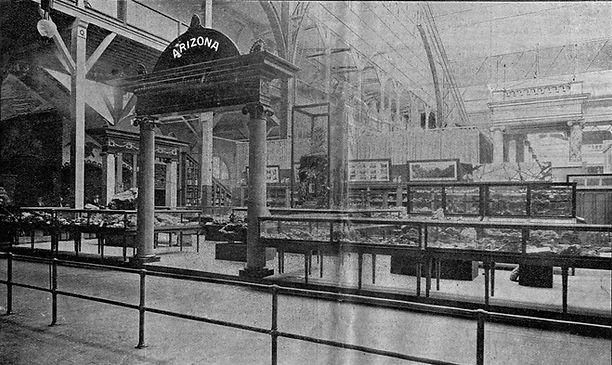Arizona Exhibit 1893 World's Columbian Exposition