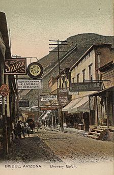Bisbee History Arizona History