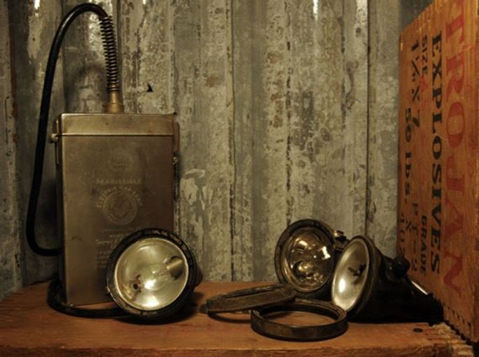 edisonModel K Miners Lamp