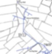 Map of the 1000 level Gardner mine