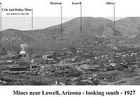 1927 mines of Lowell Arizona