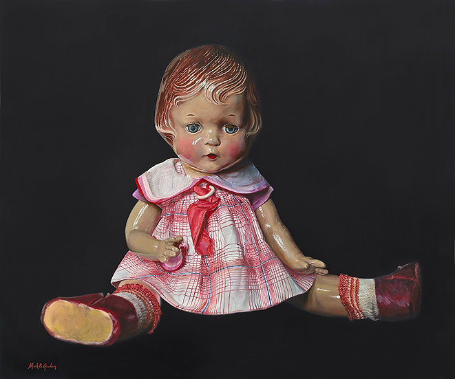 Composition Doll 1