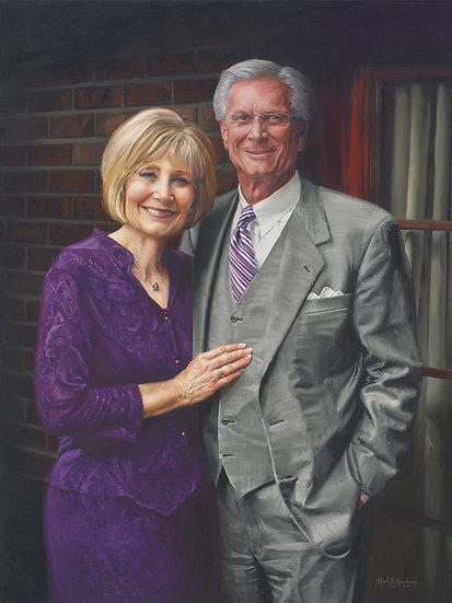 Alan & Jeannie Hall