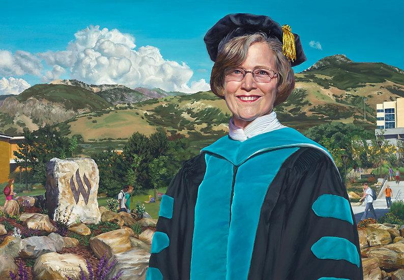 WSU President F. Ann Millner