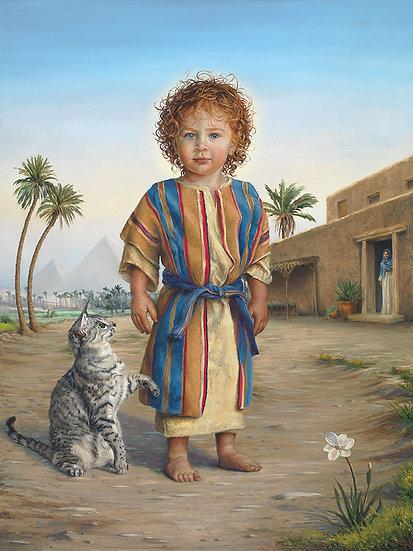Little King, Jesus in Egypt