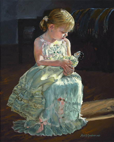 Tenderly, Lovingly, A Girl and Her Doll