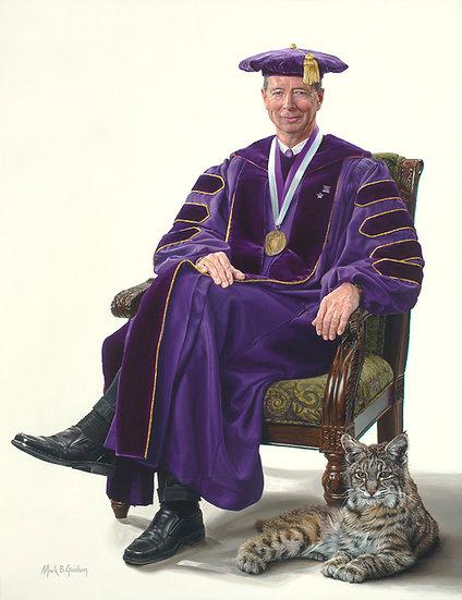 WSU President Charles A. Wight