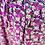 Thumbnail: Pantalon large fleuri Violet