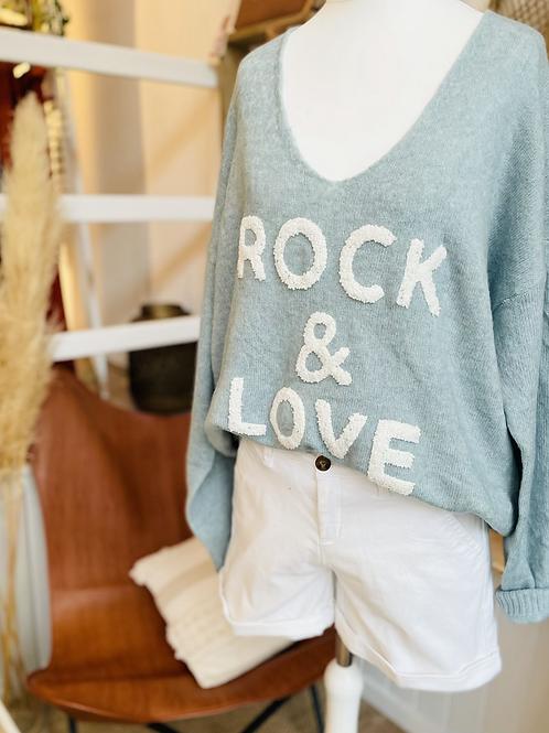 Pull ROCK & LOVE Bleu