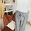 Thumbnail: Pantalon fluide Gris chiné