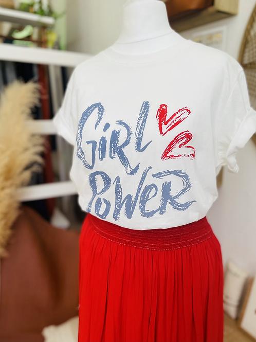Tee shirt GIRL POWER