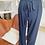Thumbnail: Pantalon fluide Bleu marine