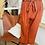 Thumbnail: Pantalon fluide Brique