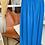 Thumbnail: Jupe bohème Bleu électrique