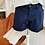 Thumbnail: Short chino Bleu marine