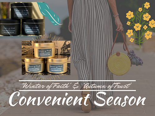 Double ' Convenient Season' Candle Set