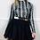Thumbnail: Faux Leather Mini Skater Skirt