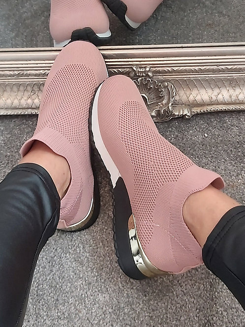 Pink Sock Trainer
