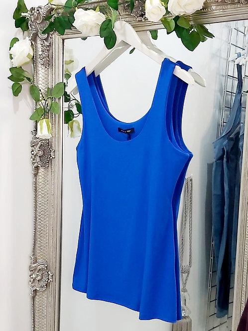 Electric Blue Stretch Vest Top